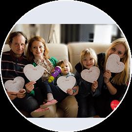 Družina Mljač - slušatelji delavnice odnosa otrok-starš-otrok