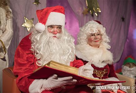 Božiček pride na Ekseno