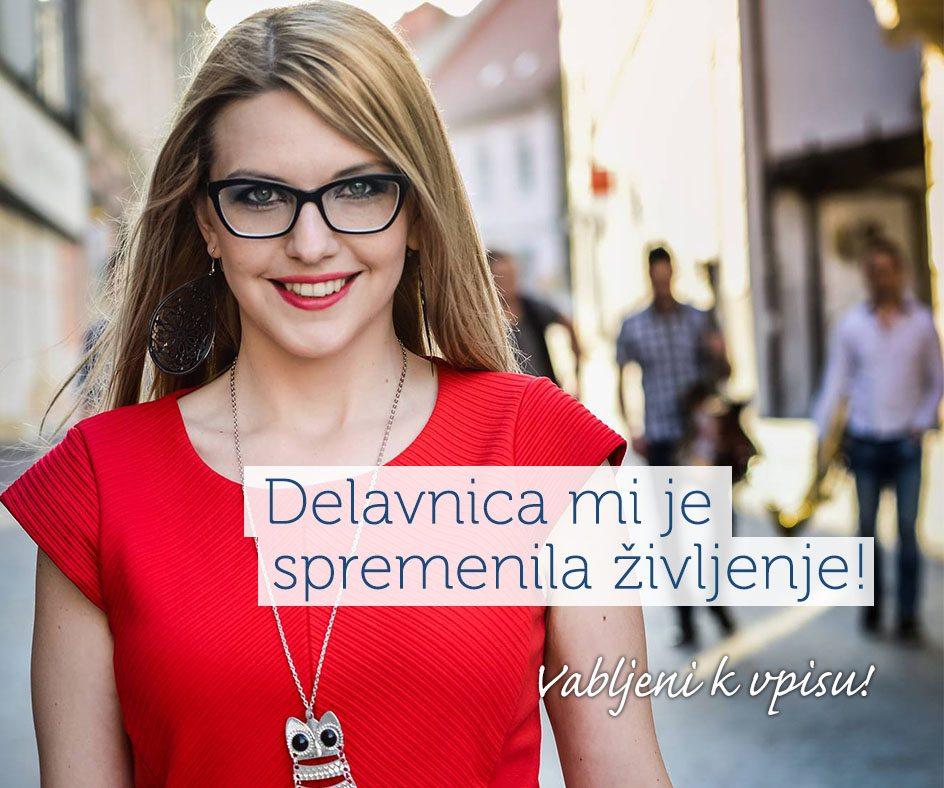 Maja Čuček - slušateljica delavnice zavedanja vrednosti fizičnega telesa Izobraževalni center Eksena Šentjur