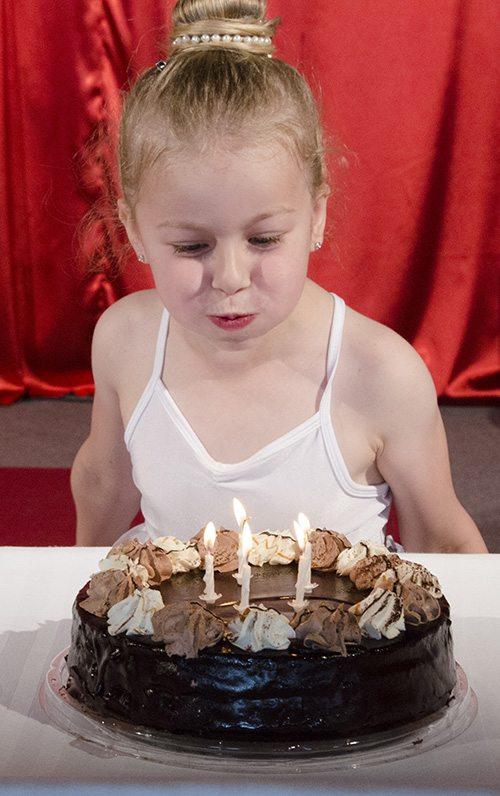 Rojstnodnevne zabave na Ekseni - torta Šentjur