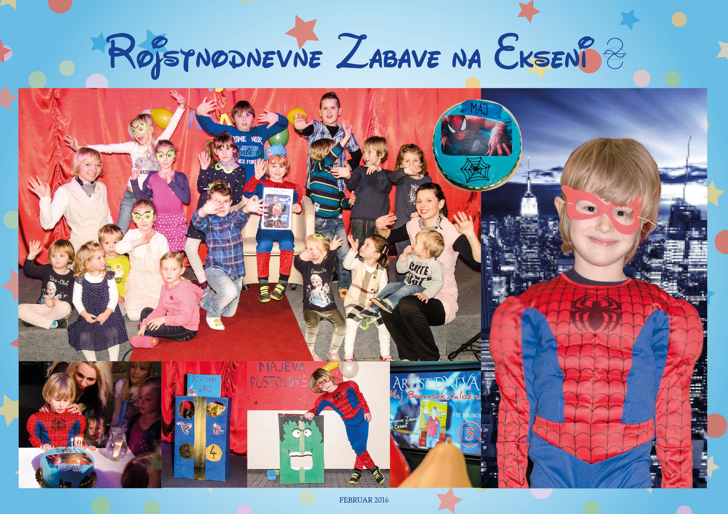 Rojstnodnevne zabave na Ekseni Izobraževalni center Eksena Šentjur