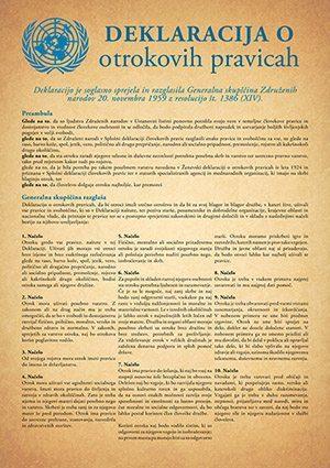 Deklaracija o otrokovih pravicah