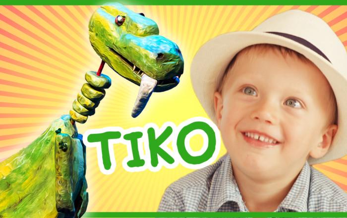 Otroški videospot Dinozaver Tiko in veliki zob Eksena Šentjur